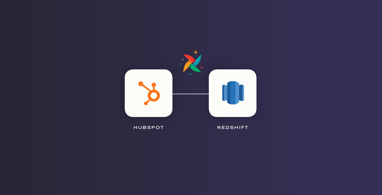 Hubspot API to Redshift with Airflow